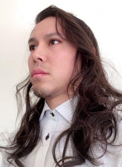 巻き髪 画像