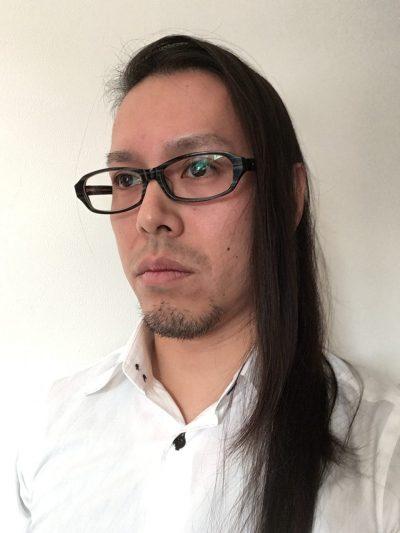 巻き髪前 画像